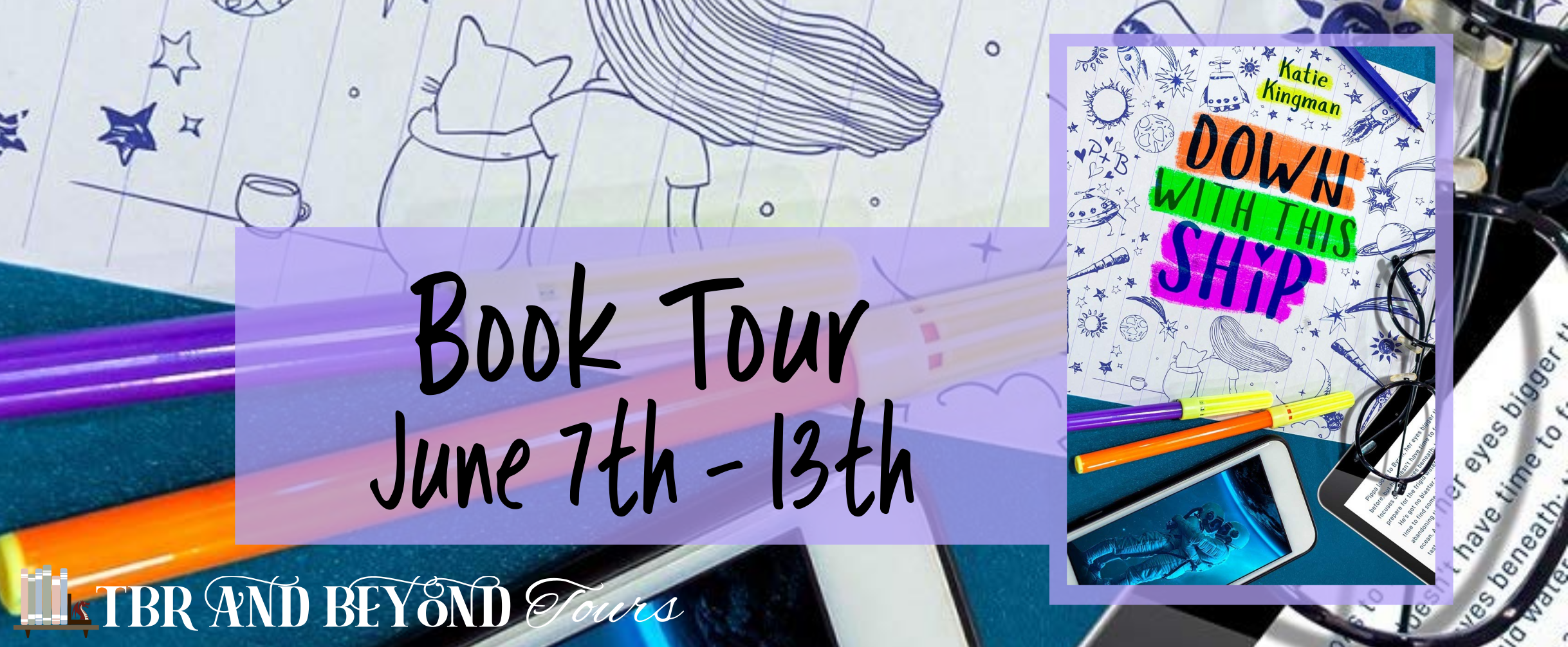 Down with this ship tour banner